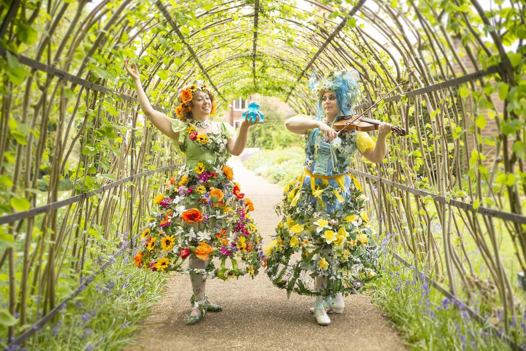 Enchanted Spring & Summer in walkway
