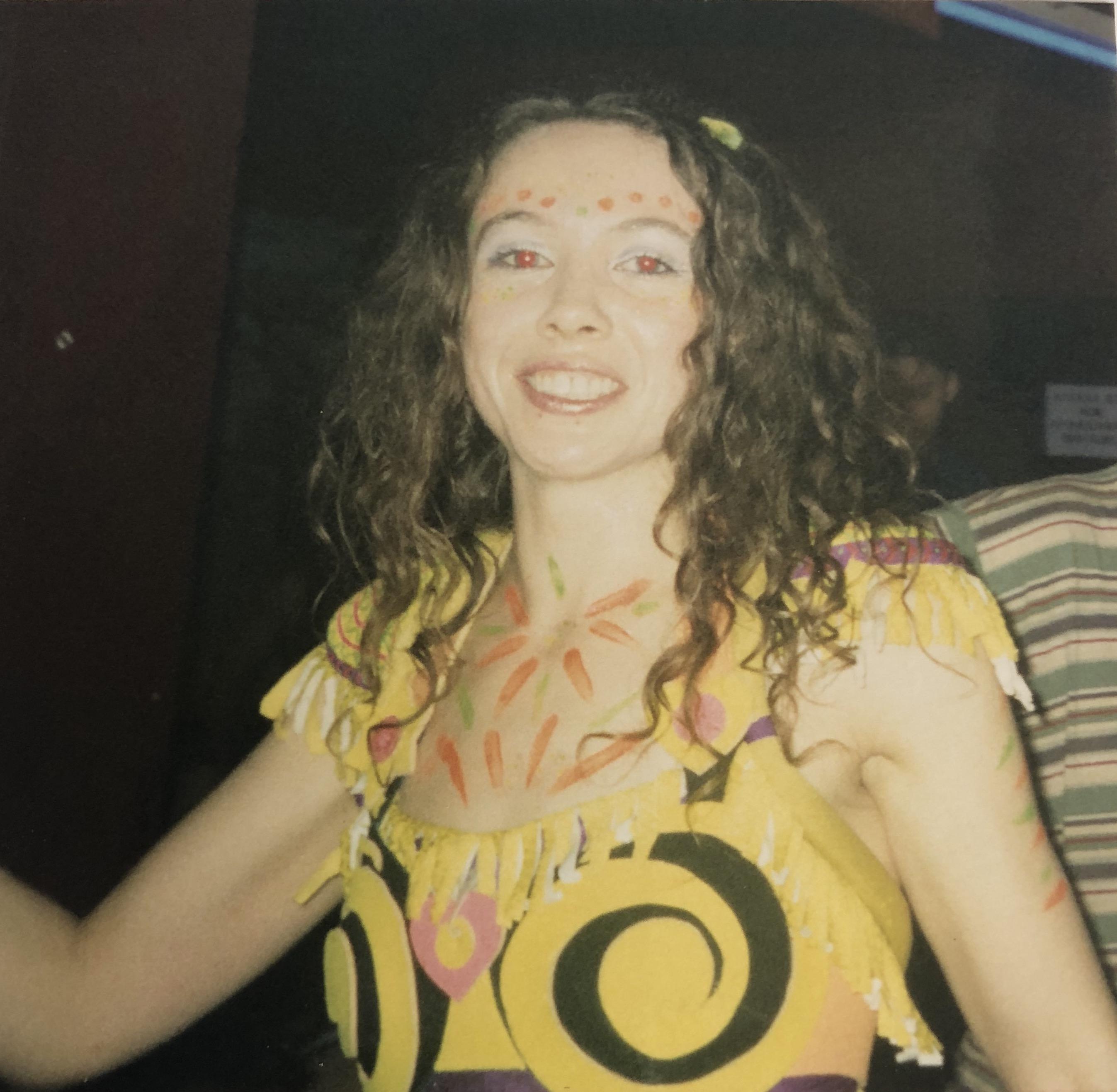 Performing at Escape from Samsara, The Fridge, Brixton 1998.JPG